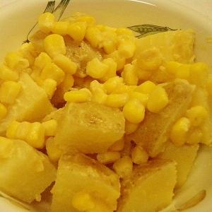 みんな大好き★じゃがコーン味噌バター