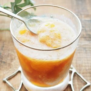 【さやわかな夏のデザート♪】オレンジティーゼリー