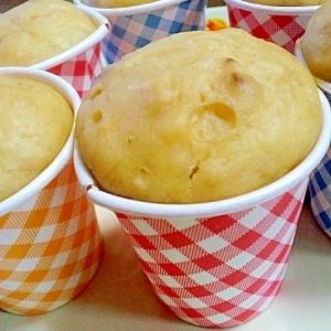 ヘルシー★豆腐とバナナのケーキ(砂糖、バターなし)