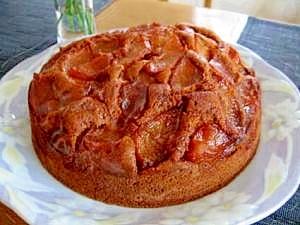 簡単★タルトタタン風★リンゴのケーキ
