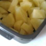 レンジ 無糖りんごコンポート