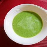 お米も入れて~小松菜のスープ