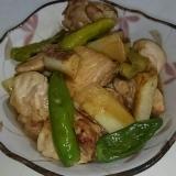 簡単!ご飯、ビールがススム鶏もも肉と長ねぎの甘辛煮