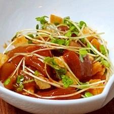 和韓折衷☆ 「マグロと長芋のピリ辛和え」