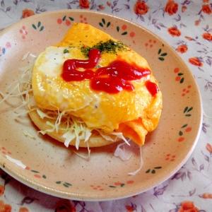 イングリッシュマフィンde卵焼きトースト