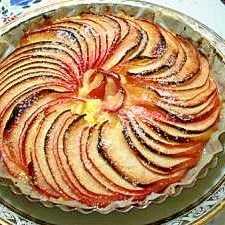 簡単リンゴのタルト