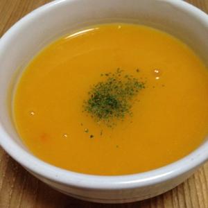 ピーナッツかぼちゃスープ♪