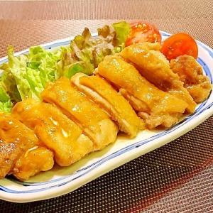 鶏肉のバターポン酢焼き