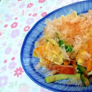 ゴーヤチャンプル風野菜炒め++