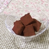 簡単手軽に作る生チョコ