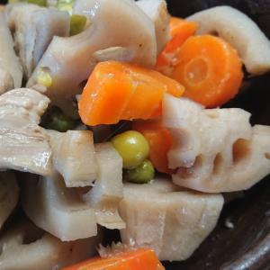 鶏モモ肉と根菜の煮物