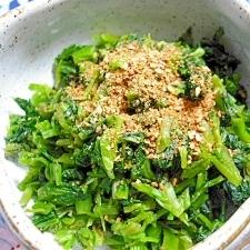 ご飯がすすむ間引き高菜の一夜漬け