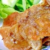 豚バラ肉のカリカリ焼き、カレー風味