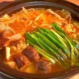 [中級] 豆腐チゲの素で作るチゲ鍋
