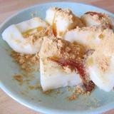 タピオカ粉でプルプルのミルク葛餅