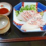 季節限定お造り☆ 皮にコク「桜鯛の炙り」