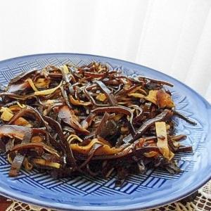 甘酢生姜と昆布の佃煮