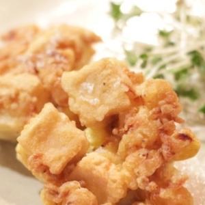ふわカリッ!高野豆腐とコーンのかき揚げ