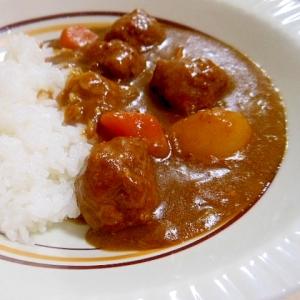 ☆肉団子カレーライス☆