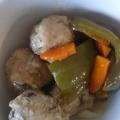 混ぜておいしい☆ミートボールといろどり野菜