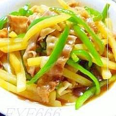 ご飯が進む★豚肉とジャガイモの炒め物