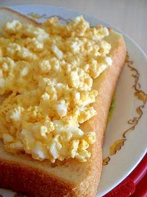 朝食に☆たまごトースト