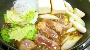 【鴨肉】鴨のすき焼き