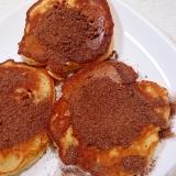 大豆粉いりミロパンケーキ