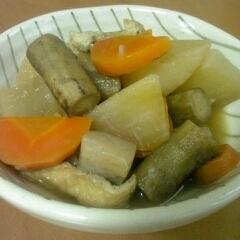 根菜の煮物♪