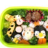 子供が喜ぶ簡単に動物園お弁当♡