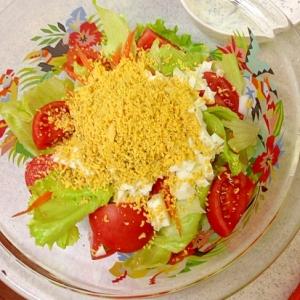 レタスと卵のサラダ