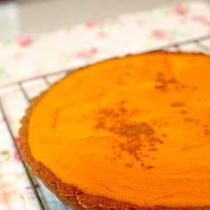 かぼちゃの豆腐チーズケーキ