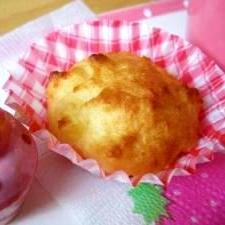 トースターで10分!ヘルシー☆おからのカップケーキ
