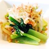 【簡単!】めんつゆ電子レンジで作る小松菜のおひたし