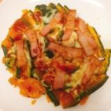 レンジとフライパンで簡単‼️南瓜のトロ〜リチーズ