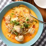 ひかり味噌公式/里芋と豚ひき肉の濃厚ごま味噌スープ
