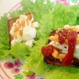 ❤カリッとゆで卵パンONサニーレタス 2種❤
