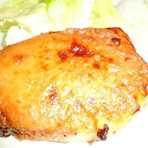カジキの味噌梅マヨネーズ焼き
