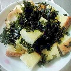 レンジで簡単にキューブパン~韓国のりバージョン~