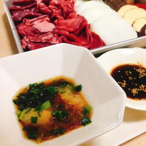 自家製2種類の焼肉のたれ★おろしポン酢&甘辛たれ