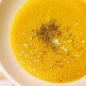 有機バターピーナッツカボチャのポタージュスープ