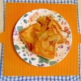 リンゴソースのフレンチトースト♪