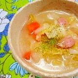 キャベツと玉葱たっぷり☆減塩スープ