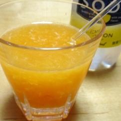 ミカンが残ったら、つぶ入りジンジャーオレンジ☆