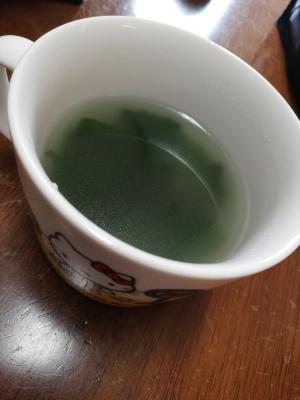 ワカメ中華スープ