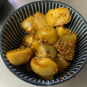 里芋の照り焼き