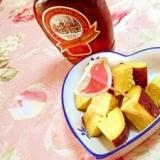 速攻❤ふかし薩摩芋の塩メープルシロップ❤