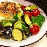 精進できそうな豆腐サラダ