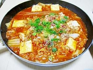 コチュジャンで韓国風すき焼き