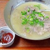 ソルロンタン風☆ 「とんこつ春雨スープ」